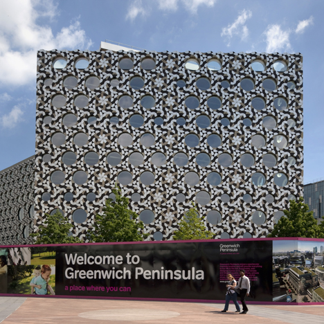 Здание колледжа Ravensbourne College of Design and Communication